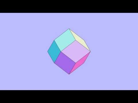 Rotating Rhombic Dodecahedron
