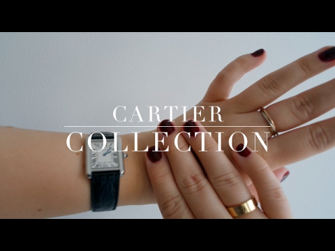 CARTIER COLLECTION – LOVE RING, TRINITY RING, TANK SOLO WATCH