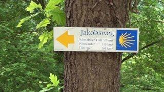 Jakobsweg 2014 - Rothenburg ob der Tauber bis Rottenburg am Neckar