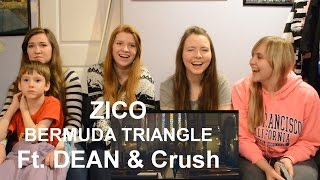 지코 (ZICO) - BERMUDA TRIANGLE Feat. Crush, DEAN MV Reaction