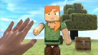 Minecraft Realistic Alex #Shorts