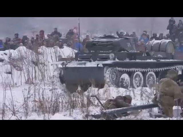 <h2><a href='https://webtv.eklogika.gr/i-anaparastasi-tis-machis-tou-leningkrant' target='_blank' title='Η αναπαράσταση της μάχης του Λένινγκραντ'>Η αναπαράσταση της μάχης του Λένινγκραντ</a></h2>