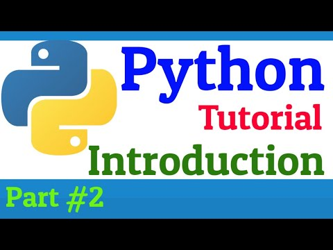 #2 Python Tutorials For Beginners thumbnail
