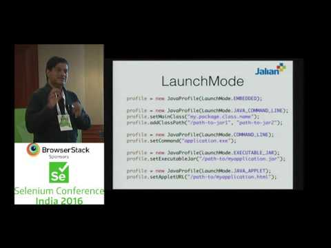 Java Swing, Java FX application testing