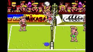 Power Spike Pro Beach Volleyball - GameBoy Color
