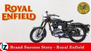 Brand Success Story in Hindi - Royal Enfield | #TZsuccesstalks