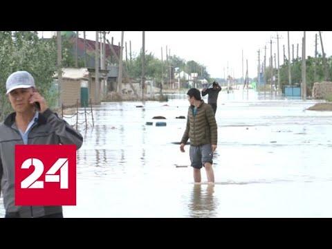 Премьеры Казахстана и Узбекистана посетили регион, пострадавший от наводнения - Россия 24