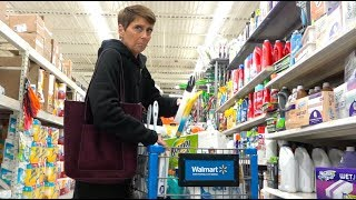 SHOPPING PRANK - Stuffing as much stuff into people's carts as possible!