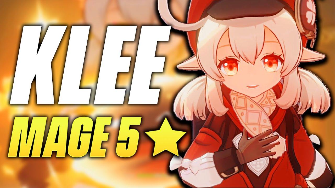 Download KLEE, Pyro Mage 5★ INCROYABLE ! Gameplay - Genshin Impact