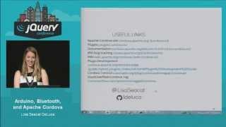 Lisa DeLuca - Arduino, Bluetooth, and Apache Cordova