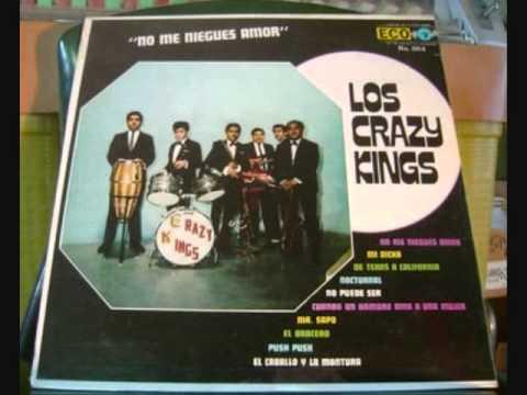 LOS CRAZY KINGS '' CUANDO UN HOMBRE AMA A UNA MUJER ''