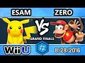 Shine 2016 Smash 4 - TSM   ZeRo (Diddy Kong) Vs. PG   ESAM (Pikachu) SSB4 Grand Finals - Smash Wii U