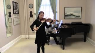Mozart Adagio. So-Young Choi 최소영 (in Miriam Fried's teaching studio)
