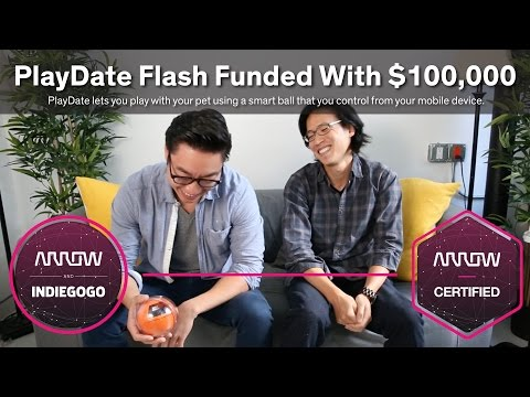$100,000 from Arrow and Indiegogo Leads to Huge Benefits for PlayDate