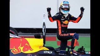 Daniel Ricciardo Driver Formula 1 One Grand Prix GP Full Car Race Live News Highlights