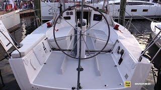 2016 J97e 32 Sport Cruiser Yacht - Walkaround - 2015 Annapolis Sail Boat Show
