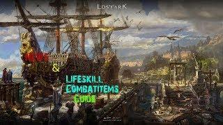 Lost Ark News+ Lifeskills /Combat Items Guide