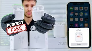 Download NEW Perfect Fake AirPods 2 Released! 1:1 supercopy Mp3 and Videos
