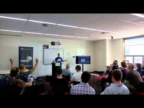 Social Media Planner Kickstarter launch at BarCamp Canberra