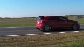 Jazda za kierownicą Mercedesa A45 AMG – Tor Białystok video