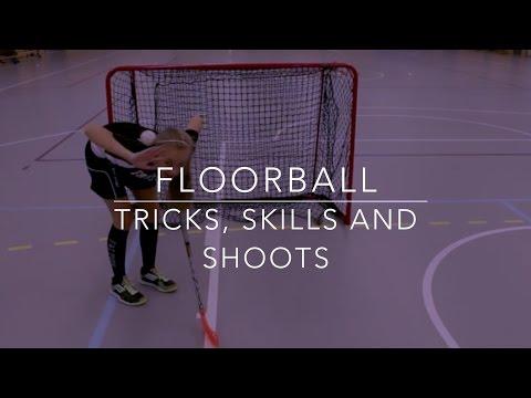 Floorball Tricks Skills And Shoots Youtube