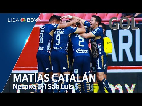 Necaxa 0 - [1] Atlético San Luis (M. Catalán 15')