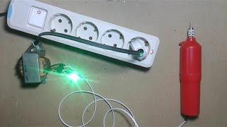 Cara membuat adaptor bor Pcb dari trafo 1 ampere