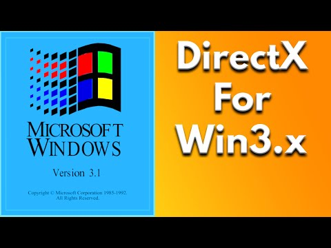 Microsoft WinG - DirectX Like Software For Windows 3.1