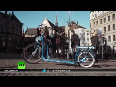 Два в одном: изобретатели совместили беговую дорожку и велосипед