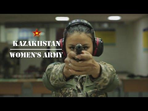 Kazakhstan women's army ★ Қазақстан әйелдер әскері