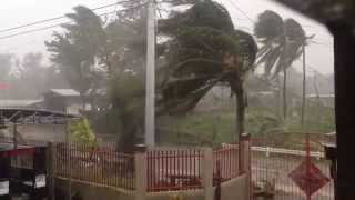 Super Typhoon Hagupit - Ruby: Video of San Remegio, Northern Cebu, Philippines