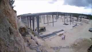 Steel Building Erection - Nassau, Bahamas