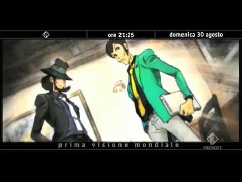 Lupin the 3rd 2015 (the italian adventure)  italian promo world premiere