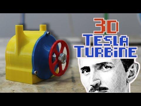 Tesla Turbine [3D Printed]