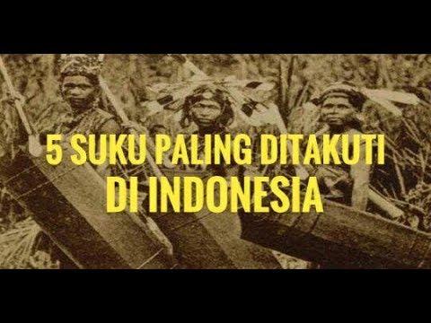 5 Suku Paling ditakuti Di Indonesia Hingga Kini