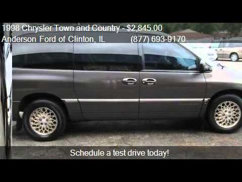 1998 chrysler town and country lxi awd 4dr extended mini van youtube. Black Bedroom Furniture Sets. Home Design Ideas