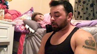 Soldier With A Stutter Reads Story To Daughter