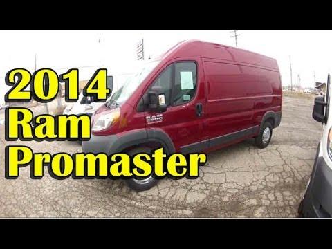 Bugout Vehicle Search - 2014 Dodge Ram Promaster Van