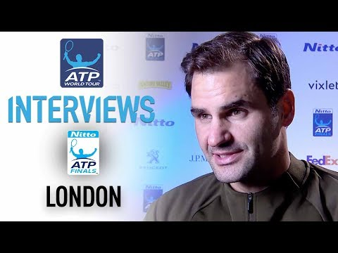 Federer Relieved To Clinch SF Berth In London Nitto ATP Finals 2017