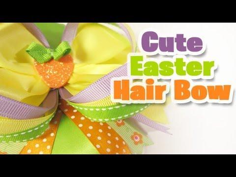 How to do a Easter Hair Bow (Johana The290ss)