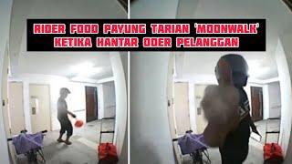 Ceria Masa Bertugas, Rider Belanja Tarian 'Moonwalk' Ketika Hantar Pesanan Pelanggan