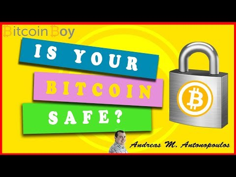 How To Keep Your Bitcoin Safe - Andreas M. Antonopoulos