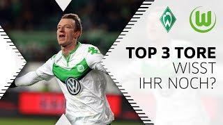 Top 3 Tore von Maximilian Arnold | Wisst ihr noch ...? | SV Werder Bremen - VfL Wolfsburg