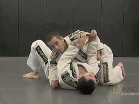 Side Control Escape #2 of 3 | ELBOW PUSH with Marcelo Garcia
