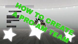 Comment Créer un Pro-AM de l'Équipe de la NBA 2K19