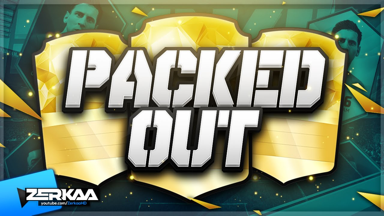 new series packed out 7 fifa 16 ultimate team youtube