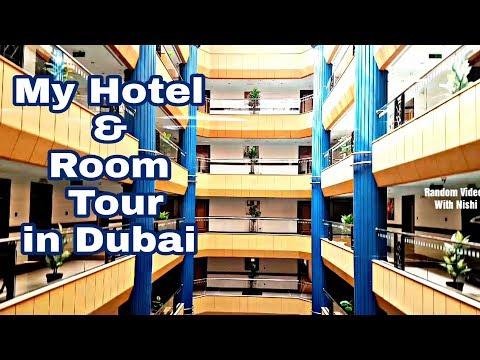 MY HOTEL & ROOM TOUR IN *DUBAI* IN HINDI/Al Manar Grand Hotel Apartment In Bur Dubai/SUIT IN DUBAI