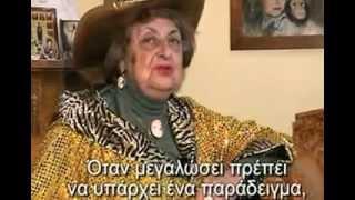НАТАЛЬЯ ДУРОВА /ТЕАТР ЗВЕРЕЙ/ ИНТЕРВЬЮ ДЛЯ ГРЕЧЕСКОГО ТЕЛЕ-КАНАЛА