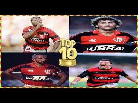 TOP 10 -  MAIORES ÍDOLOS DO FLAMENGO