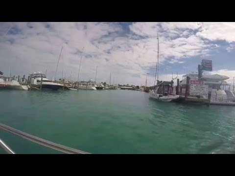 KEY WEST HARBOR BY WATER